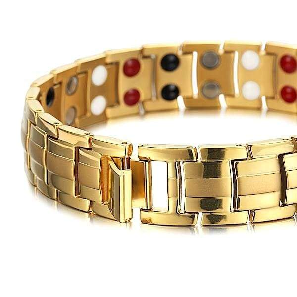 Bracelet 9009 Gold - Men / Bio Magnetic Balance 4®