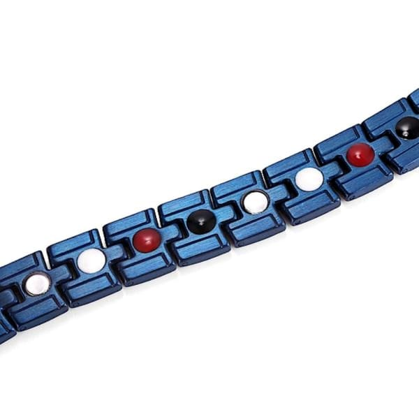 Bracelet 9200 Blue -Men / Bio Magnetic Balance 4®
