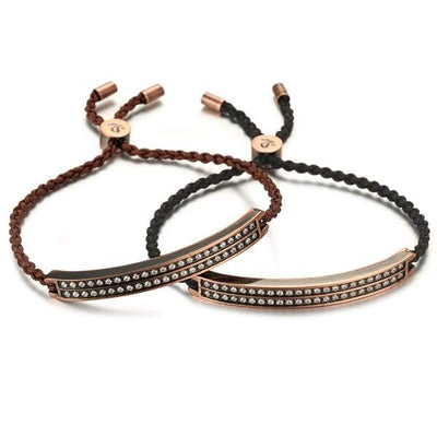 Bio Magnetic Copper Bangle - Women - 11110 Brown Magnetic Bracelet