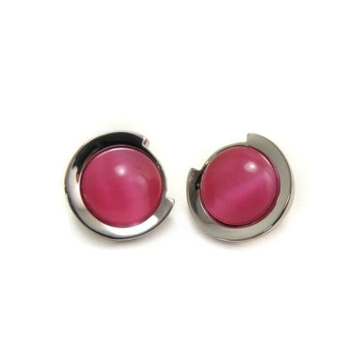 Magnetic Earrings - 23501 Rose - (Intestinal balance) magnetic jewerly