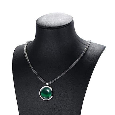 Auryaspower 50710 / Magnetic Necklace / Women 50710 Dark Green Magnetic Necklace
