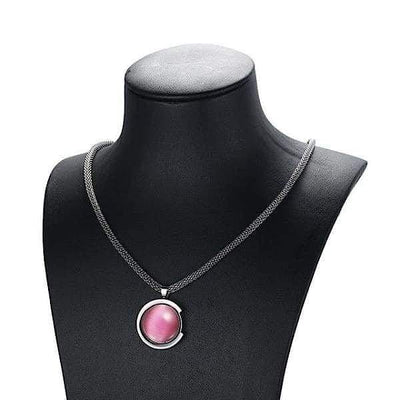 Auryaspower 50710 / Magnetic Necklace / Women 50710 Pink Magnetic Necklace