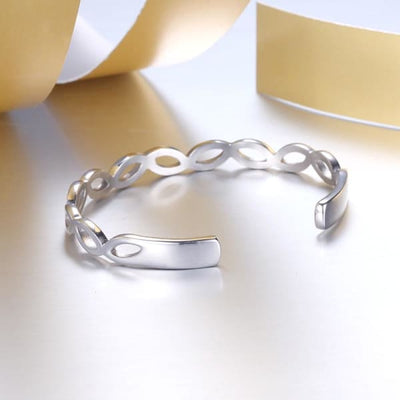 Women's Bangle / Chloe 110 Silver Fashion Jewerly