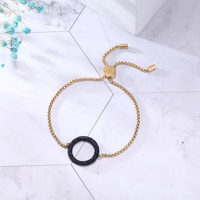 Women's Bracelet / Chloe 230 Gold Black Fashion Jewerly