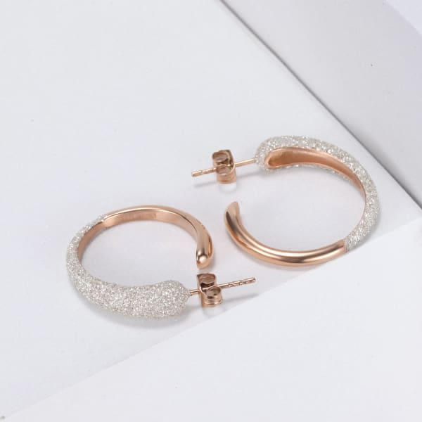 Women's Earrings / Chloe 350 Rose Gold Fashion Jewerly