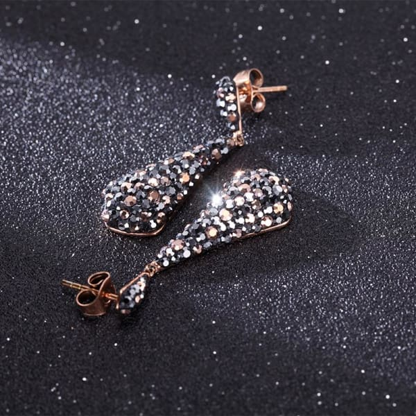 Women's Earrings / Chloe 560 Rose Gold Fashion Jewerly