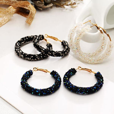 Women's Earrings / NOA Black Fashion Jewerly
