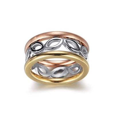 Women's set Ring / Chloe 110 Silver Gold 52 Fashion Jewerly