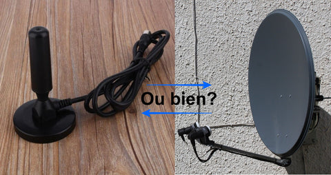 Antenne HDTV ou bien Antenne Satellite?