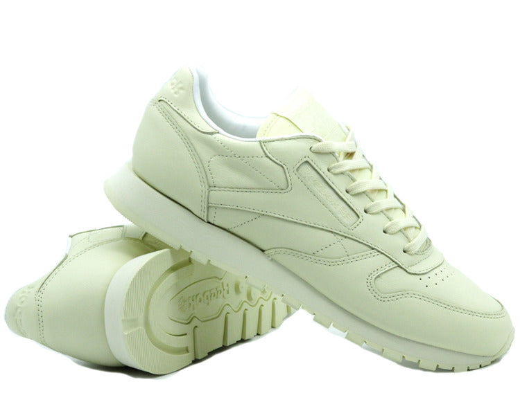 f9a2c90ccac Reebok Classic Leather Pastels washed yellow white BD2772 - Hype ...
