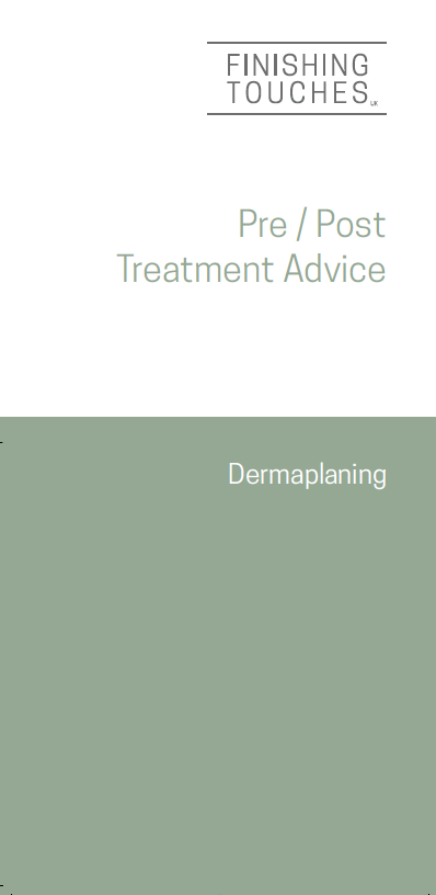 Pre & Post Treatment Leaflet - DermX
