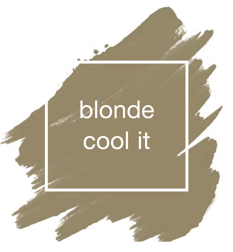 Blonde Cool It