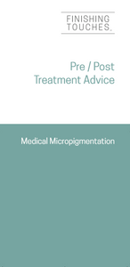 Pre & Post Treatment Leaflet - Medical