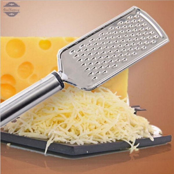 AtooShopping Hand Held Stainless Steel Grater Cheese Zester Vegetable Kitchen Tool Peelers High Handheld Slicer Kitchen Tool