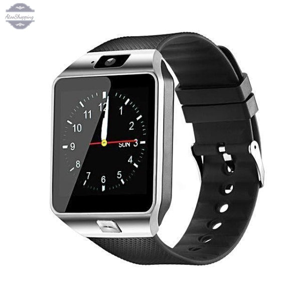 AtooShopping Silver / China Fentorn Bluetooth Smart Watch DZ09 Relogio Android Smartwatch Phone Call SIM TF Camera for IOS iPhone Samsung HUAWEI PK GT08 Q18