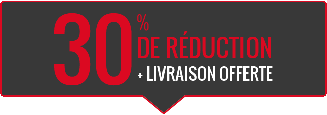 30% DE RÉDUCTION
