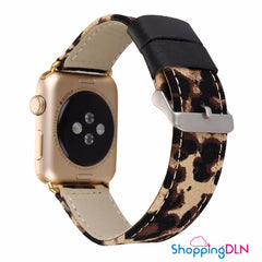 Bracelet Apple Watch Léopard