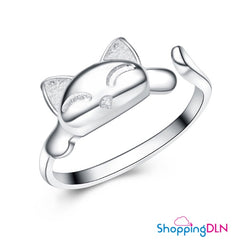 Bague de chat ajustable