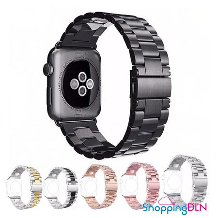 Bracelet Apple Watch Inoxydable en acier