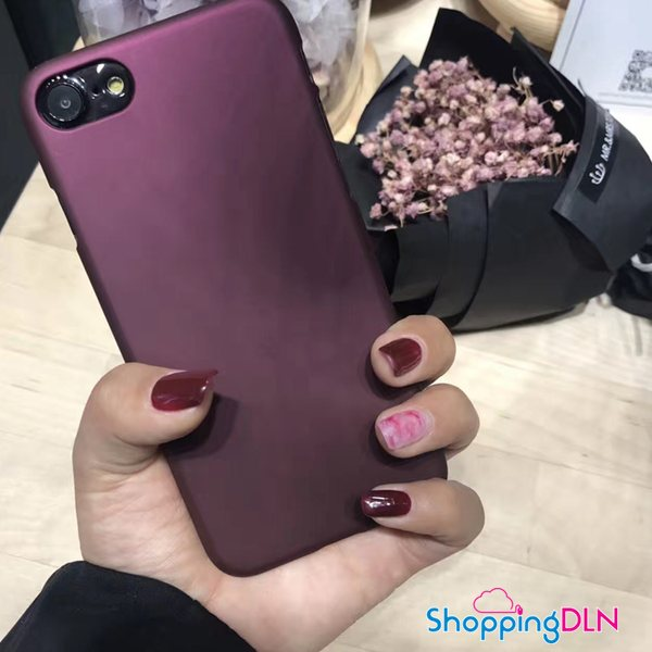 Coque iPhone couleur Rouge Vin