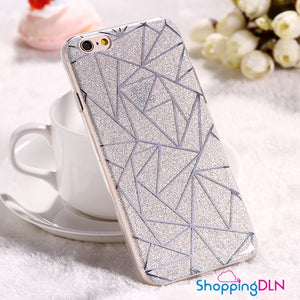 Coque iPhone design avec paillette