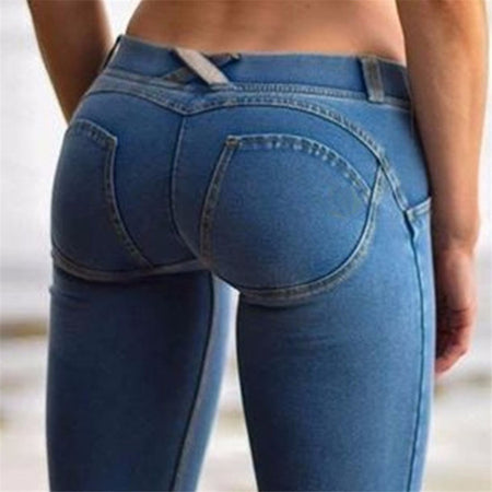 Jean tendance Push Up
