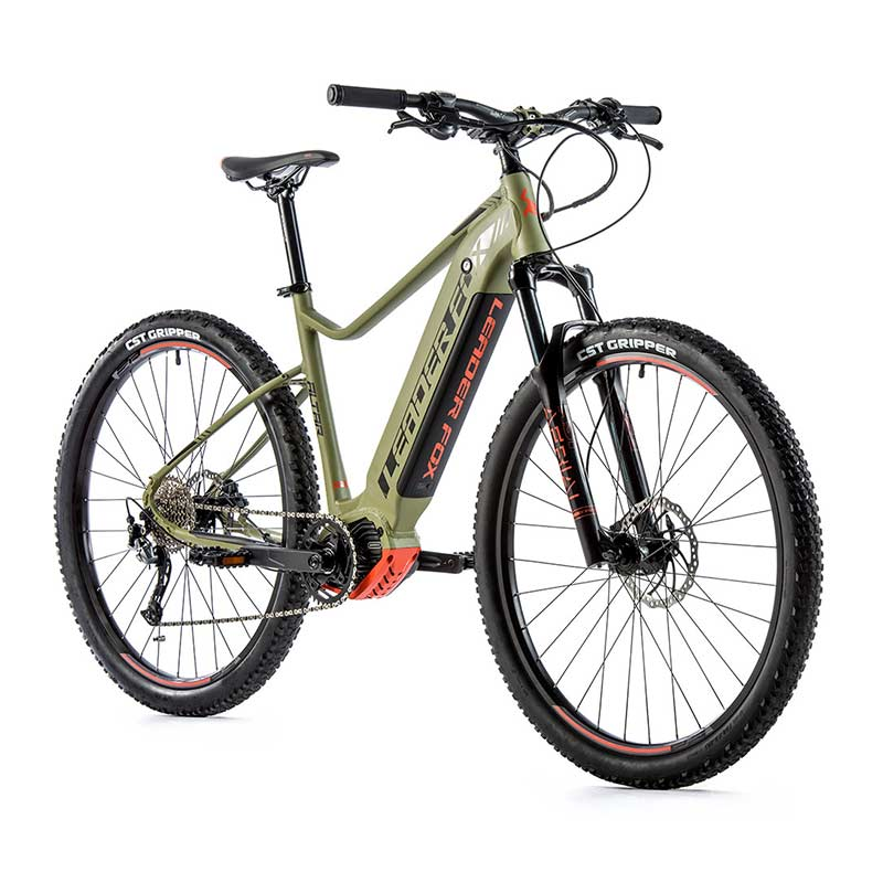 "VTT A ASSISTANCE ELECTRIQUE LEADERFOX ALTAR 29"" VERT ARMY ORANGE"