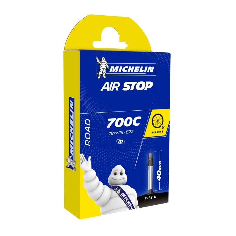 CHAMBRE A AIR VELO 700 x 18-25 MICHELIN A1 VALVE 40/52 mm