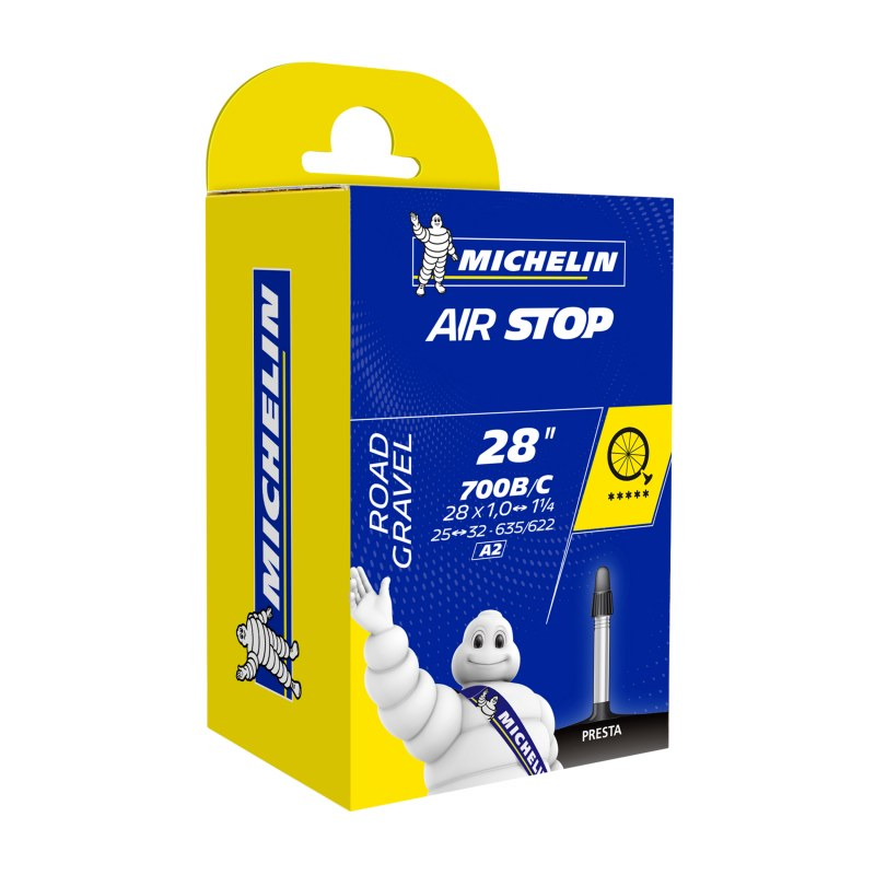 CHAMBRE A AIR VELO 700 x 25-32 MICHELIN A2 VALVE 40 mm