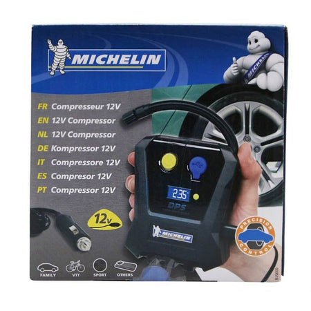 COMPRESSEUR VELO MICHELIN 12V