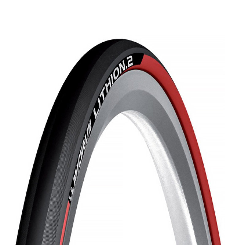 PNEU ROUTE 700 X 23 MICHELIN LITHION 2 ROUGE TS