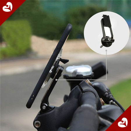 Support smartphone orientable 1 clic