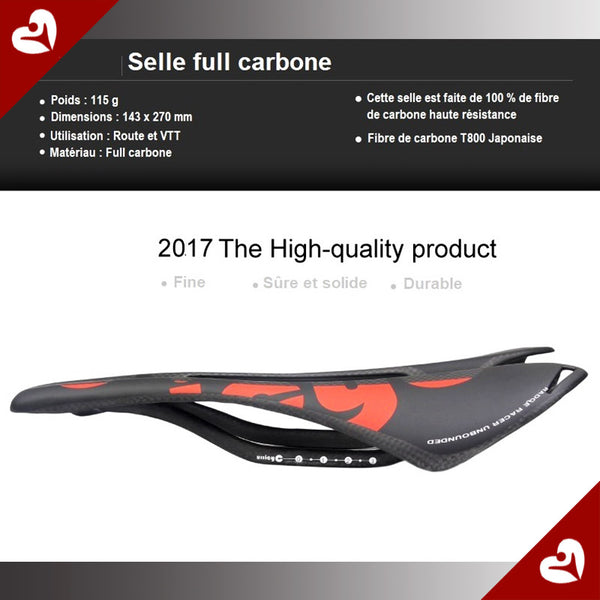 DESTOCKAGE Selle carbone SB27 2017 ROUTE VTT