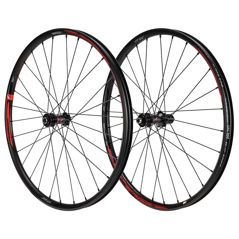 "PAIRE DE ROUES VTT 27.5"" TUBELESS FULCRUM RED FIRE DISC"