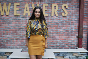Freya Skirt in Mustard