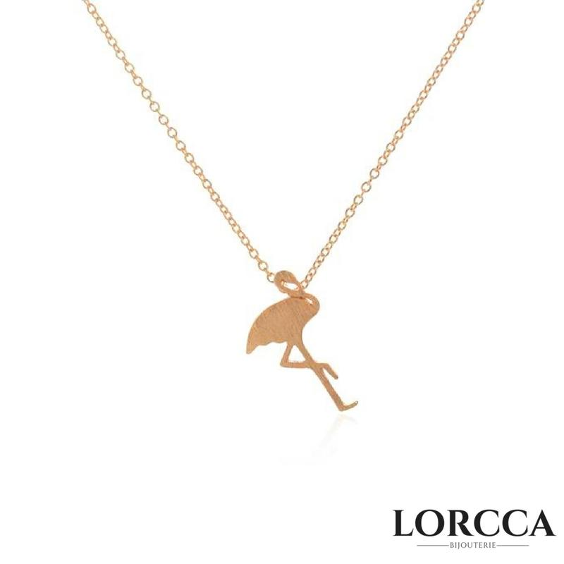 "Collier Flamant rose ""Flamingo"""