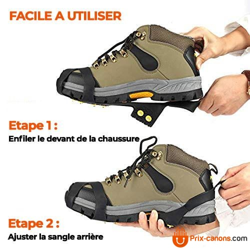 Crampons Antidérapants Pour Chaussures
