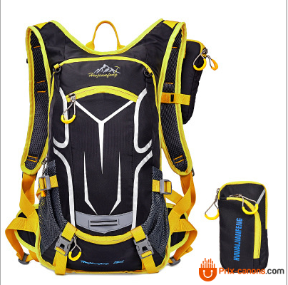 Mountain Bike Waterproof Bicycle Bag Yellow Sac À Dos Vélo