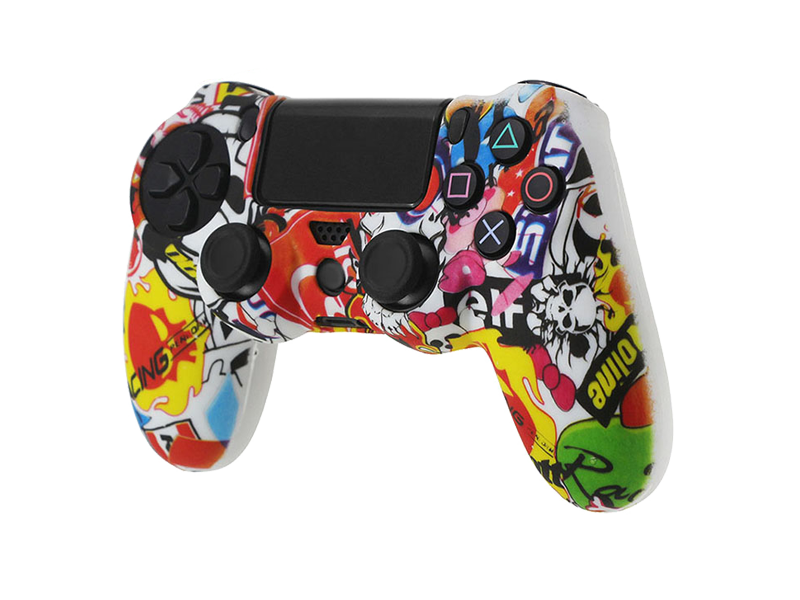 Coque de protection manette PS4 MOTORSPORT