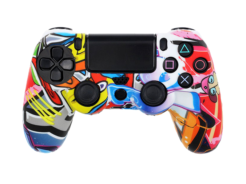 Coque de protection manette PS4 WILDSTYLE