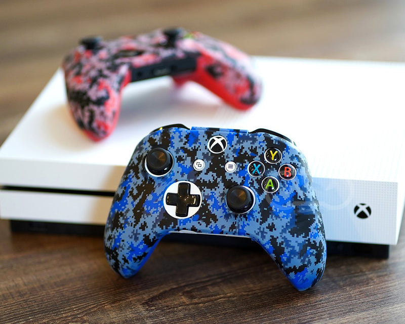 BLUE DIGITAL CAMO