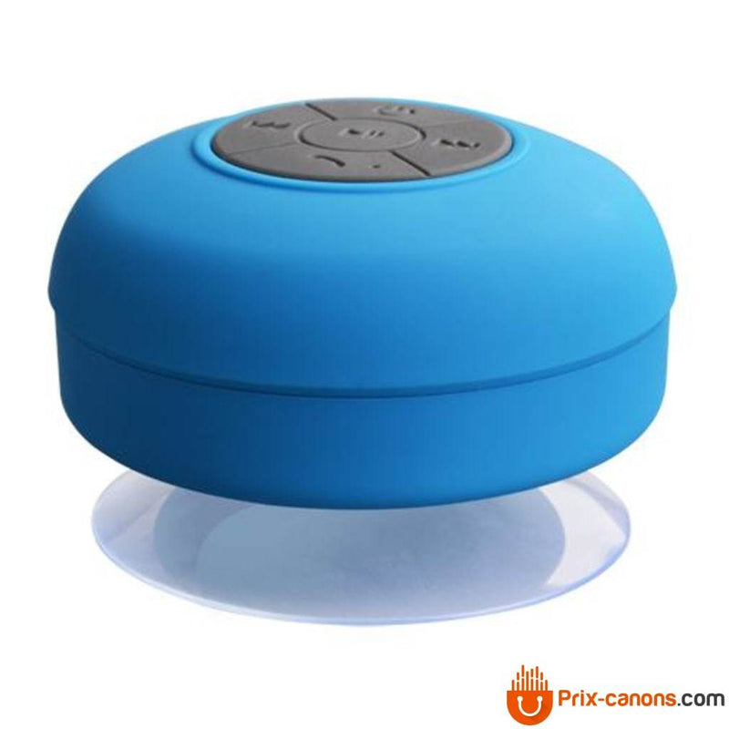 Enceinte bluetooth waterproof bleu