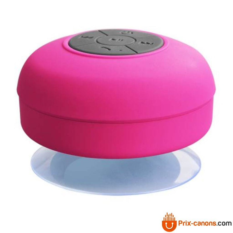 Enceinte bluetooth waterproof rose
