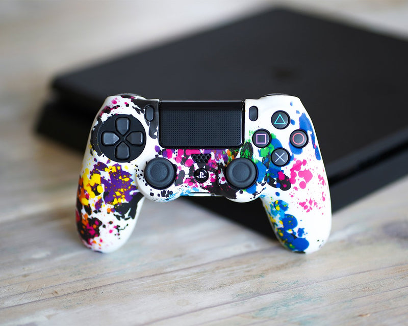 Coque de protection manette PS4 PSYCHEDELIC