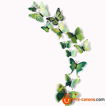 Sticker 3D Papillon - Prix-Canons