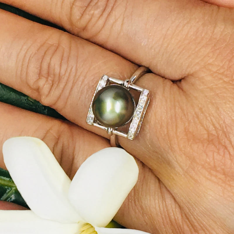 Sterling silver Ring Fakarava