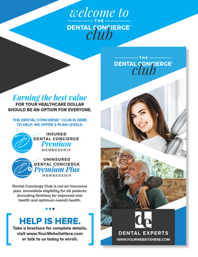 The Dental Concierge® Club Marketing Package