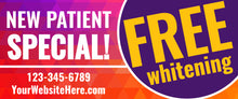 New Patient Special! Free Whitening