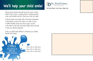 Give Your Child A Lifetime of Healthy Smiles