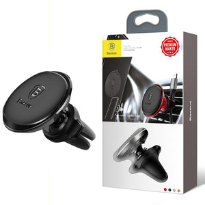 Magnetic Air Vent Car Phone Mount with cable clip